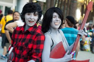Marshall Lee and Marceline by EriTesPhoto