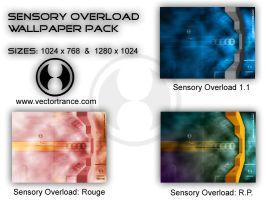 Sensory Overload: Wallpaper pk by Vectortrance