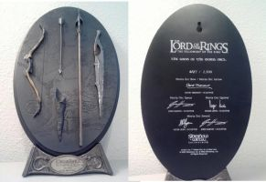 Sideshow Weta Arms of Moria from LOTR Fellowship by Pabloramosart