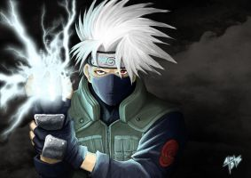 Lightning Edge Kakashi by ahanblazer