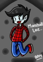 Marshall Lee.. by BlackBunnyMuffin