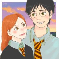Ginny e Harry by keerakeera