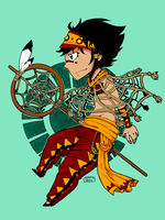 Native American Style by Kehmy