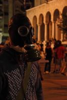 Gas mask by Fortisinprocella