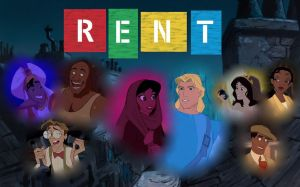 Disney's ''Rent'' by Lonewolf-Sparrowhawk