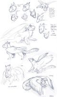 Griffin sketchdump by Kobb