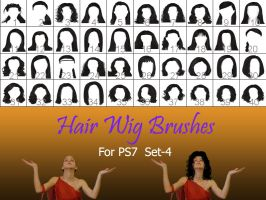 Hair_Wigs_Brushes_SET_4 by intenseone345