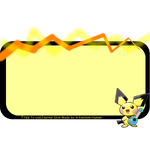 Free To Use Ukulele Pichu Journal Skin by Skye-Sweet-Author