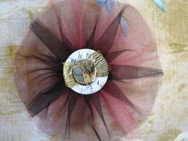 Steampunk Barrette 2 by bcainspirations