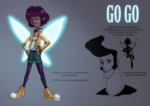 GO GO Randomveus contest submission by Woodyillustration