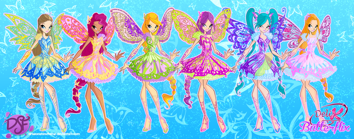 Winx: Delix Butterflix by DragonShinyFlame