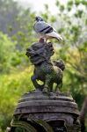 Pigeon On A Lion by hegerligin