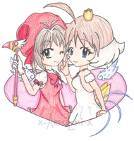 Kiribian: CardCaptor Sakura and Princess Tutu by x-ArtsiEmi-x