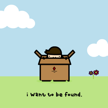 i want to be found by sooperdave
