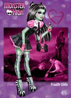 Monster High - Frankie Stein by kharis-art