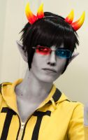 Sollux Captor - what are you lookiing at ? by Kim-T-Mikk