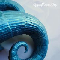 Oh Puck in Custom Aqua Finish by che4u