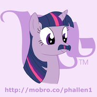 MoBrony project: Twilight Sparkle by phallen1