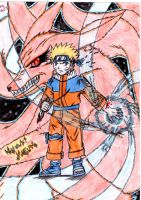 My First Naruto Drawing by NatachiXD