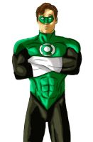 Hal Jordan_color by BLACKapostate