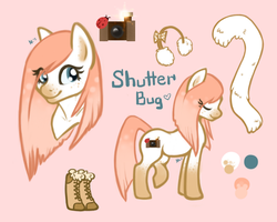 Shutterbug Reference Sheet - Commission by CandyCollie