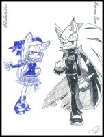 vampire sonamy designs by aidah15