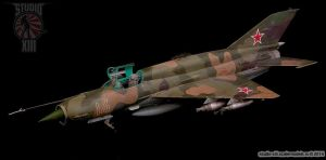 Eduard 1/48 MiG-21SMT by Michael-XIII