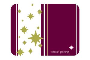 Holiday Stars -postcard by pepper-tea