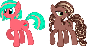 Two tasty ponies to adopt! - CLOSED by Chimajra