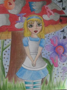 alice in wonderland by patito15
