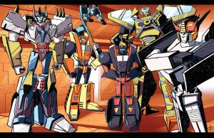 MachineWarsNAutobots by dcjosh