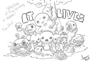 It Lives and Co. - Fan Art by Brainsause