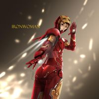 IRON Woman by JJWind