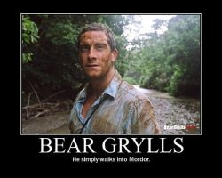 Bear Grylls by AngryFlashlight