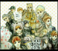 exo's showtime ep. 3 by piupiupaw