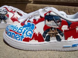 LBP: Metal Gear Nike AF1s by PattersonArt