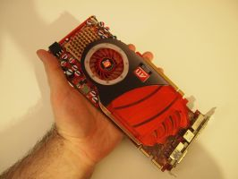 A Video card from  my old Gateway FX   RIP by Wretched--Stare