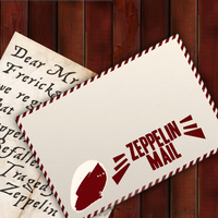 Zeppelin Mail-courier envelope by STCroiss