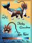 Stanley Snowshoe the Nekoi - Refsheet by StanHoneyThief