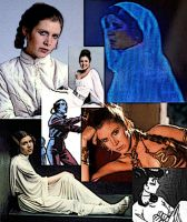 Collage of Leia Organa by LadyIlona1984