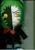 Zetsu plushie on the scanner by funny-cupcake5