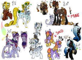 Breedables Auction CLOSED by Sarahostervig