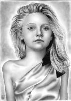 Dakota Fanning 1 by LittleRamona
