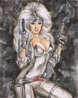 Silver Sable by mikitot