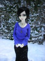 Lenore in the Snow II by StonerKitty