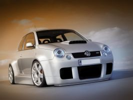 volkswagen lupo tuning by spoon334