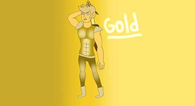 Steven Universe OC-Gold by CartoonChick927