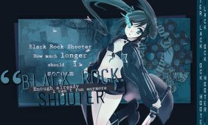 Black Rock Shooter by PsychedelicFreedom