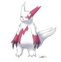 Zangoose Practice by LaptopGun