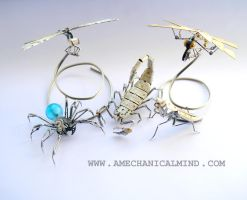 Watch Parts Arthropods February '15 by AMechanicalMind